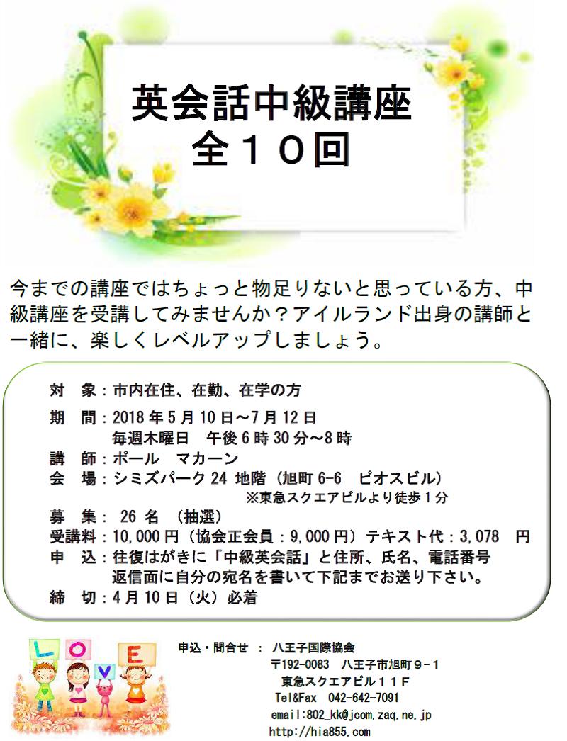 3.春中級英語